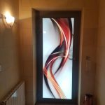 Porte d'entrée avec panneau Verrissima - Dégriff Fenêtres